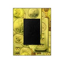 gold coin Picture Frame