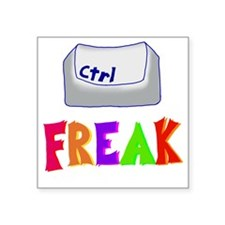 "CtrlFreak Square Sticker 3"" x 3"""