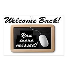 Welcome Back-Missed! Postcards (Package of 8)