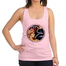 Apollo 17 Mission Patch Racerback Tank Top