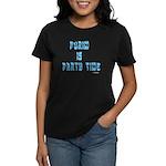 Purim Party Time Women's Dark T-Shirt