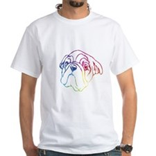 Rainbow, Bulldog Shirt
