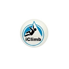 Rock Climber Mini Button