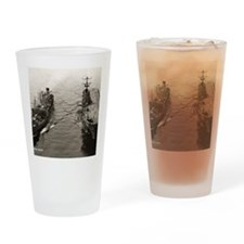 uss taluga framed panel print Drinking Glass