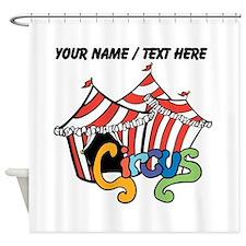 Custom Circus Shower Curtain