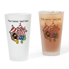 Custom Circus Drinking Glass