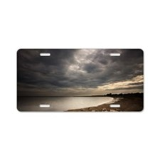 Summer storm Aluminum License Plate