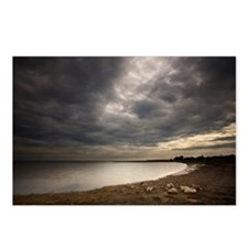 Summer storm Postcards (Package of 8)