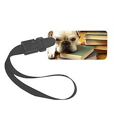 Dog Study Luggage Tag