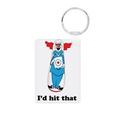 Id Hit That Bobo Doll T-Sh Keychains