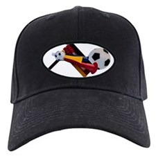 Horn-Ratchet-Ball Baseball Hat