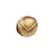 spartan shield Mini Button