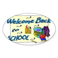 Welcome Back to School Backpack Decal