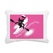 crazykittiesONPINK Rectangular Canvas Pillow