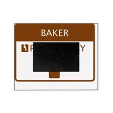 Baker Powered by Coffee Picture Frame