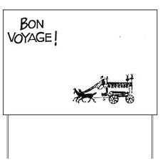 lili - bon voyage Yard Sign