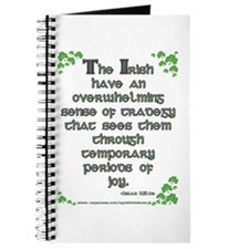 Funny Oscar Wilde Quote Journal