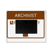 Archivist Powered by Coffee Picture Frame