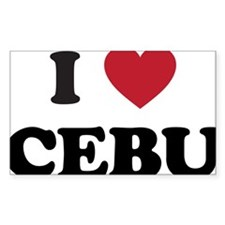I Love Cebu Decal