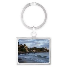 Beautiful sunrise in Sayulita,  Landscape Keychain