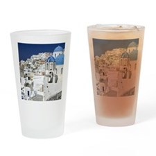 Island of Santorini - Greece Drinking Glass