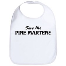 Save the PINE MARTENS Bib