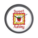 Sweet Ashley Wall Clock