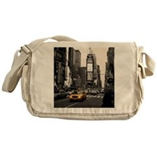 Time Square Taxi Messenger Bag