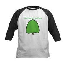 Custom Evergreen Tree Baseball Jersey