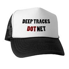 Deep Tracks Red Dot Trucker Hat