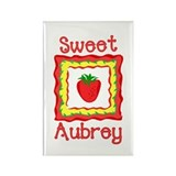 Sweet Aubrey Rectangle Magnet
