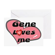 gene loves me  Greeting Cards (Pk of 10)