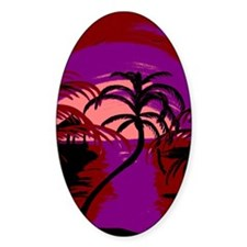Abstract Beach Decal
