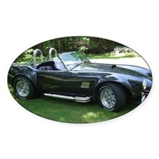 cobra sports car Decal