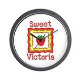 Sweet Victoria Wall Clock