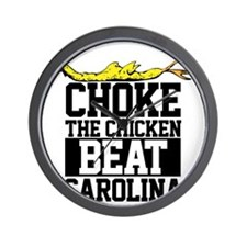 Choke The Chicken Beat South Carolina Wall Clock