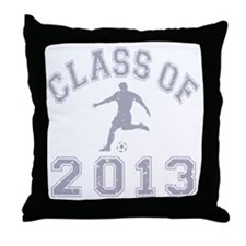 Class Of 2013 Soccer Throw Pillow