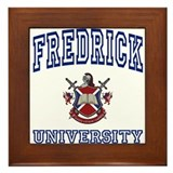 FREDRICK University Framed Tile