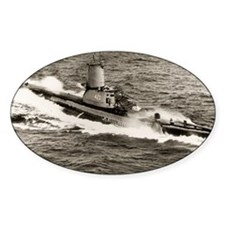 uss torsk large framed print Decal