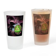 AIDS research, conceptual artwork Drinking Glass