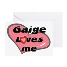 gaige loves me  Greeting Cards (Pk of 10)