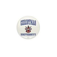 CHRISTMAS University Mini Button (10 pack)