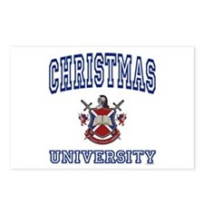 CHRISTMAS University Postcards (Package of 8)