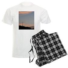 Scenery with iron tower Pajamas