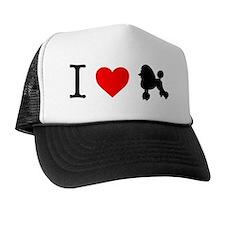I Love Poodles Trucker Hat