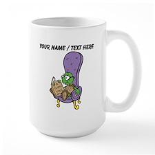 Custom Turtle Reading Mugs
