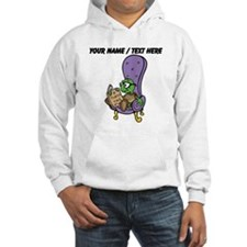 Custom Turtle Reading Hoodie