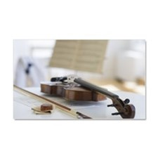 Violin and sheet music Car Magnet 20 x 12