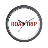 Road trips Wall Clock