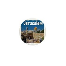 jerusalem Mini Button